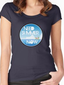 Need Summer Now Women's Fitted Scoop T-Shirt
