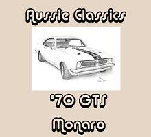 '70 GTS Monaro - Aussie Classics (Black Text) Unisex T-Shirt