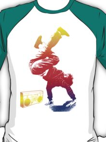 bboy colored T-Shirt