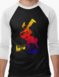 bboy colored Men's Baseball ¾ T-Shirt