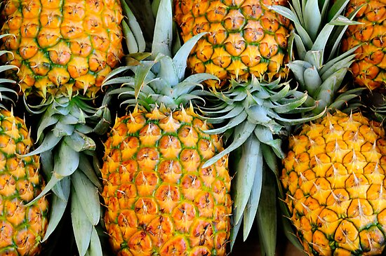 Pineapples by Flux Photography