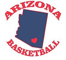 arizona basketball Photographic Print