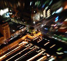 Melbourne Flinders Street Train Station by Kevin Leung