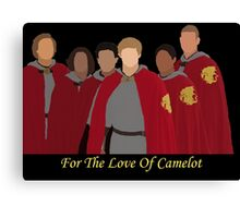 Merlin for the love of camelot Canvas Print
