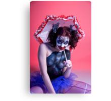 Send In The Clown Canvas Print