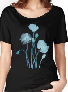 blue poppy Women's Relaxed Fit T-Shirt