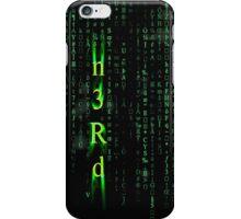Nerd Matrix  iPhone Case/Skin