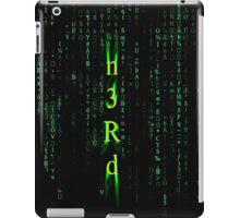 Nerd Matrix  iPad Case/Skin