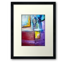 Semi Forward Framed Print