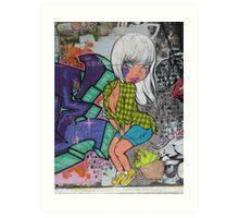Fafi came to Melbourne Art Print