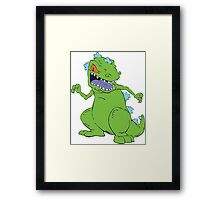 Rugrats; Reptar! Framed Print