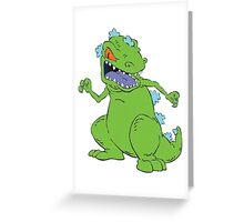 Rugrats; Reptar! Greeting Card