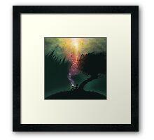 The Dreamer of Everywhere, Everything, Everytime Framed Print