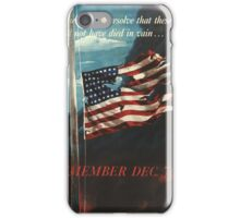 Marine Corps recruiting poster from World War II 5 iPhone Case/Skin