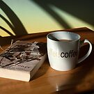 Coffee and a good book. by lynxpilot