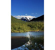 Beautiful mountain in sweden Photographic Print