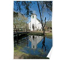 New Hope Chapel at Acadian Village Poster