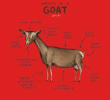 Anatomy of a Goat Kids Tee