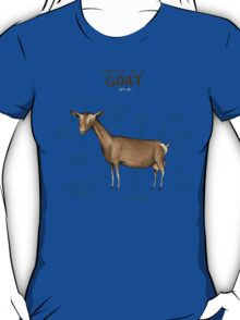 Anatomy of a Goat T-Shirt