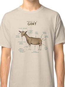 Anatomy of a Goat Classic T-Shirt