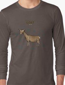 Anatomy of a Goat Long Sleeve T-Shirt