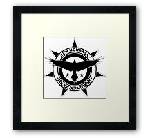 Halo, New Mombasa Police Department logo Framed Print