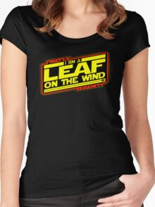 Firefly Strikes Back Women's Fitted Scoop T-Shirt
