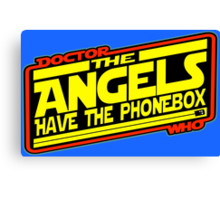 Doctor Who: The Angels Strike Back Canvas Print