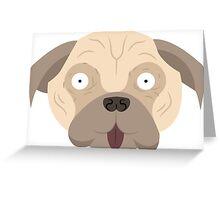 Pugs, pugs, pugs! pattern Greeting Card