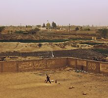 Cricket in Quetta, Pakistan by heinrich
