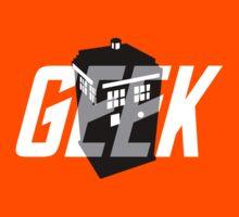 Geek My Ride- TARDIS Kids Tee
