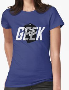 Geek My Ride- TARDIS Womens Fitted T-Shirt