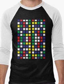 Cube Madness Men's Baseball ¾ T-Shirt