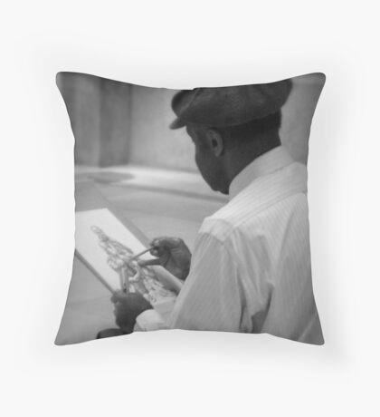 An Artist's Life Throw Pillow