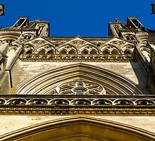 Cathedral Notre Dame de Coutances by AmyRalston