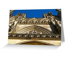Cathedral Notre Dame de Coutances Greeting Card
