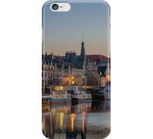 Twilight down at the Shore, Edinburgh iPhone Case/Skin
