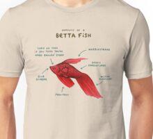Anatomy of a Betta Fish Unisex T-Shirt