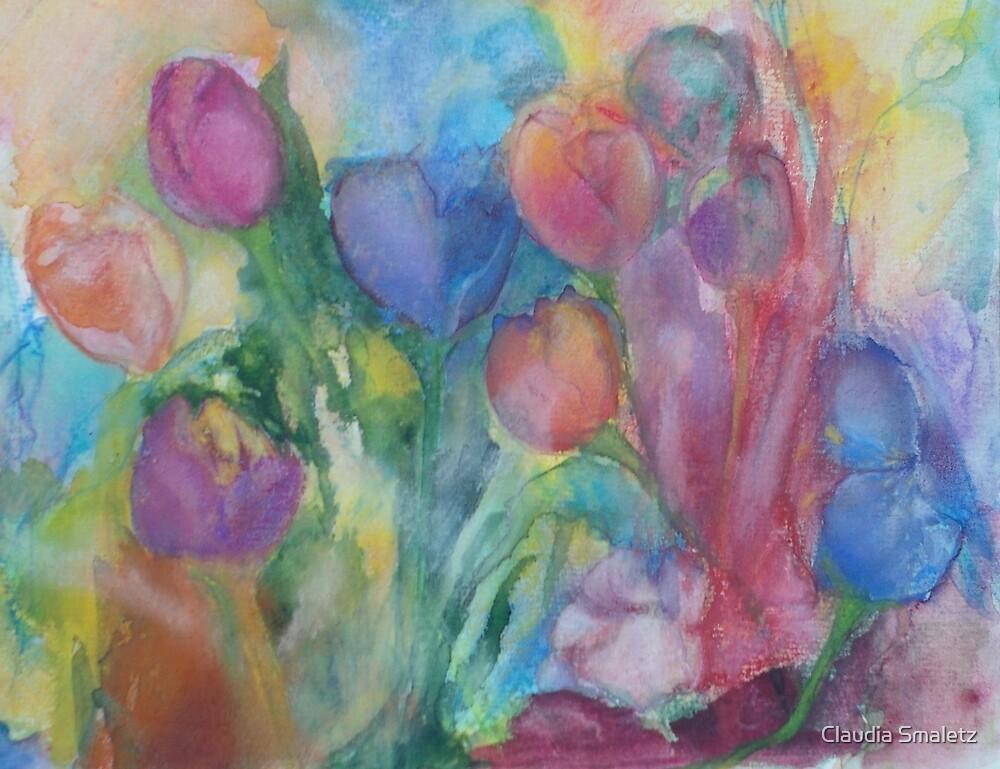 Fresh Tulips by Claudia Smaletz