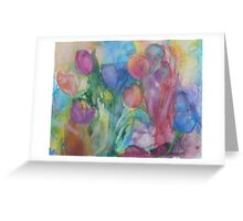 Fresh Tulips Greeting Card