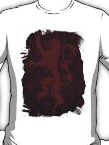 Lannister House - Black T-Shirt