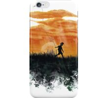 sunny kite kid iPhone Case/Skin