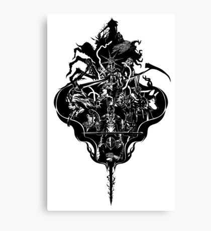 My Dark Soul Canvas Print