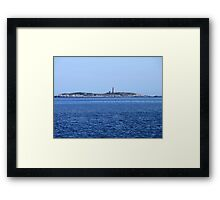 Sambro Island Light Framed Print