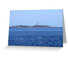 Sambro Island Light Greeting Card