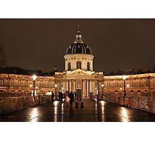 Institut de France Photographic Print