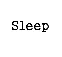 Sleep Minimalism by rachelbott