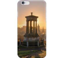 Sun Setting over Edinburgh iPhone Case/Skin