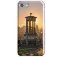 Sun Setting over Edinburgh iPhone Case/Skin