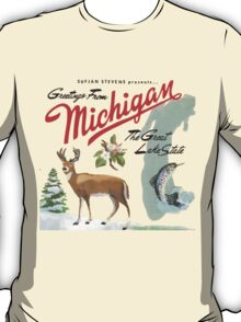 Sufjan Stevens- Greetings from Michigan T-Shirt